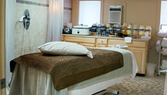 Treat yourself to a service in one of 3 private massage and body treatment suites