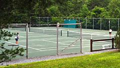 The Tennis Courts At Hawk Are Second To None