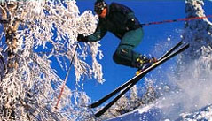 There are skiing conditions to fit any kind of skill level